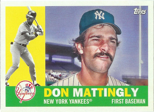 2017 Topps Archives #95 Don Mattingly