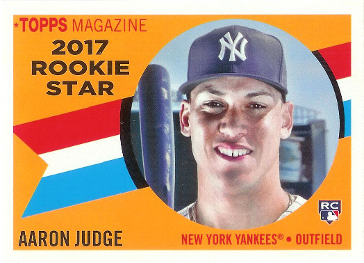 2017 Topps Archives 1960 Rookie Star #RS-9 Aaron Judge
