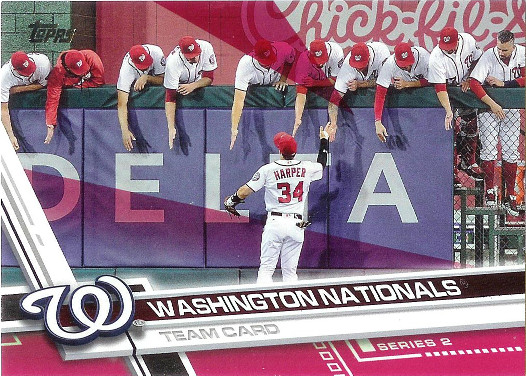 2017 Topps Pink #564 Washington Nationals