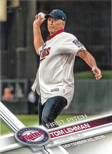 2017 Topps First Pitch #FP-38 Tom Lehman