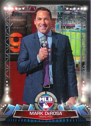 2017 Topps MLB Network #MLBN-25 Mark DeRosa