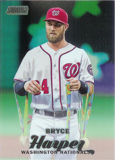 2017 Stadium Club Rainbow Foil #39 Bryce Harper