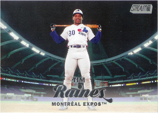 2017 Stadium Club #151 Tim Raines