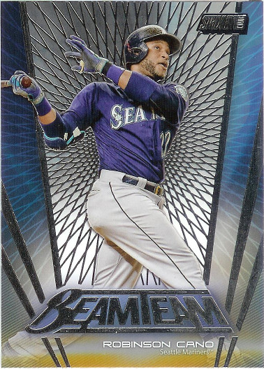 2017 Stadium Club Beam Team #BT-RC Robinson Cano