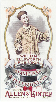 2017 Allen & Ginter Magicians & Illusionists #MI-6 William Ellsworth Robinson