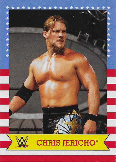2017 Topps Heritage WWE SummerSlam All-Stars #12 Chris Jericho