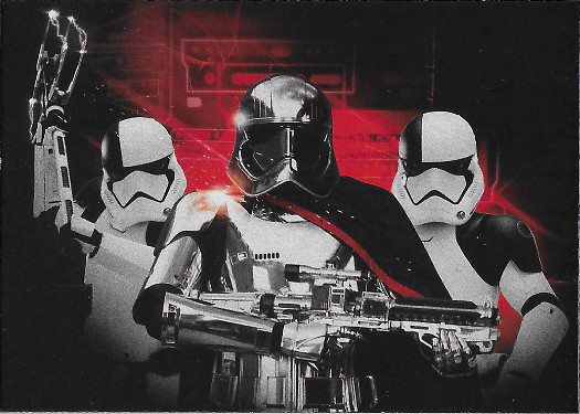2017 Topps Star Wars Journey to The Last Jedi Darkness Rises #6 Captain Phasma