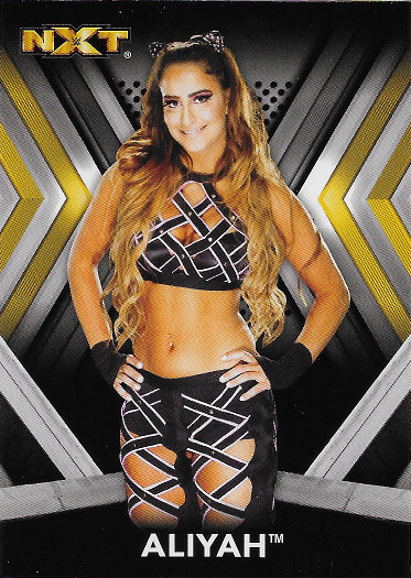 2017 Topps WWE NXT Roster #4 Aliyah