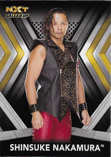 2017 Topps WWE NXT Roster #49 Shinsuke Nakamura