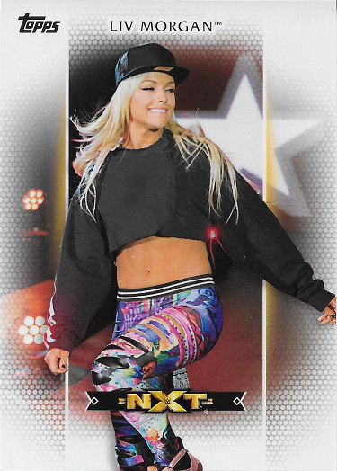 2017 Topps WWE Women's Division Roster #R-7 Liv Morgan