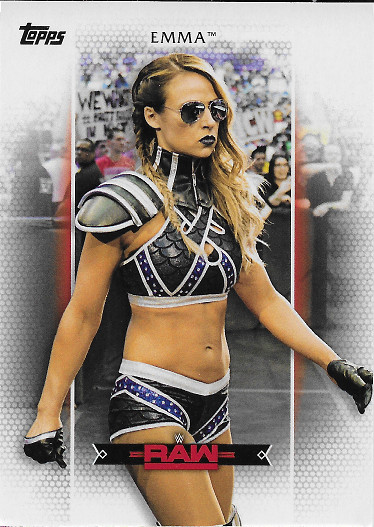 2017 Topps WWE Women's Division Roster #R-18 Emma