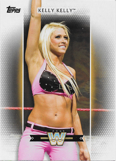 2017 Topps WWE Women's Division Roster #R-47 Kelly Kelly