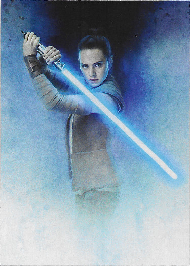 2017 Topps Star Wars Journey to The Last Jedi Rey Continuity #2 Rey