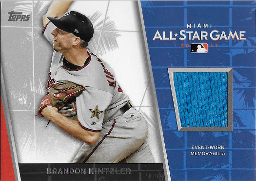 2017 Topps All Star Stitches #ASR-BK Brandon Kintzler