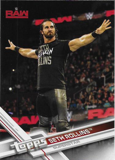 2017 Topps WWE #135 Seth Rollins