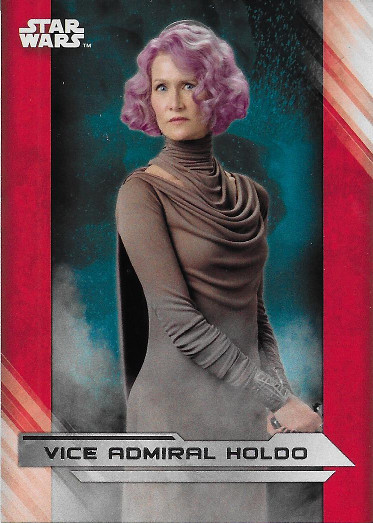 2017 Topps Star Wars The Last Jedi #29 Vice Admiral Holdo