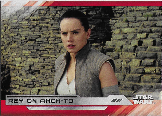2017 Topps Star Wars The Last Jedi #97 Rey on Ahch-To