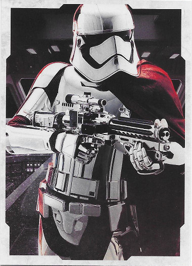 2017 Topps Star Wars The Last Jedi Character Portraits #CP-9 Captain Phasma