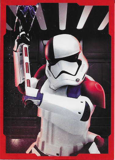 2017 Topps Star Wars The Last Jedi Character Portraits Red #CP-11 Stormtrooper Executioner