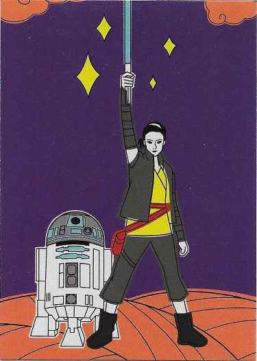 2017 Topps Star Wars The Last Jedi Rey Continuity #8 Rey