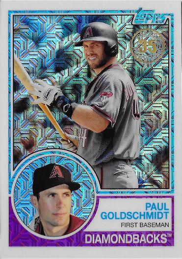 2018 Topps 1983 Topps Chrome #30 Paul Goldschmidt
