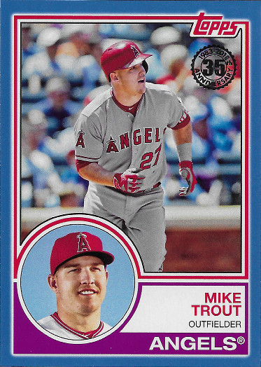 2018 Topps 1983 Topps Blue #83-13 Mike Trout