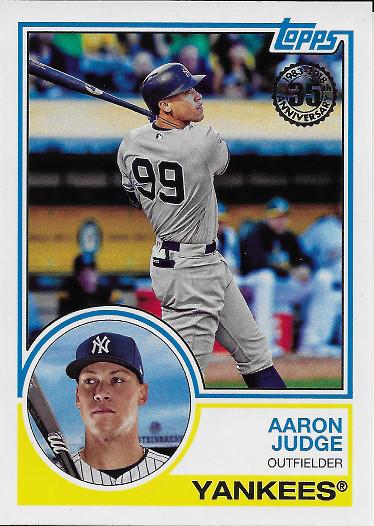 2018 Topps 1983 Topps #83-24 Aaron Judge