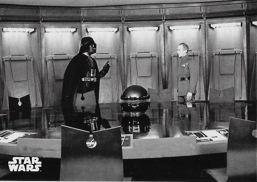 2018 Topps Star Wars Black & White #83 Disturbance at Princess Leia's Cell