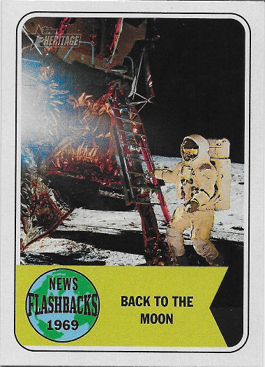 2018 Topps Heritage News Flashbacks #NF-8 Apollo 12