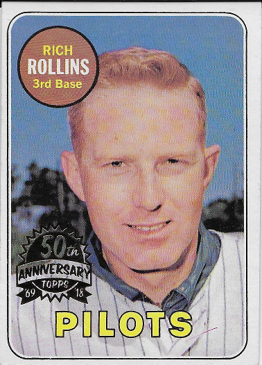 2018 Topps Heritage 50th Anniversary Buybacks 1969 #451 Rich Rollins