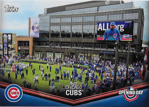 2018 Topps Opening Day Stadiums #ODB-CC Chicago Cubs