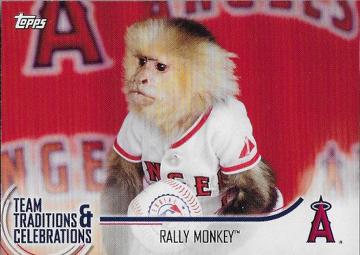 2018 Topps Opening Day Team Traditions & Celebrations #TTC-RM Rally Monkey