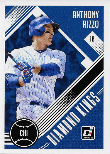 2018 Donruss #1 Anthony Rizzo DK
