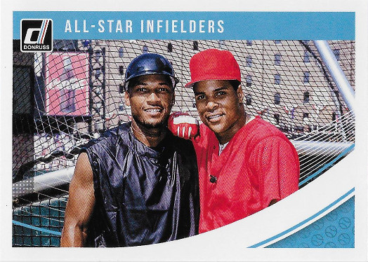 2018 Donruss #215 Barry Larkin / Gary Sheffield