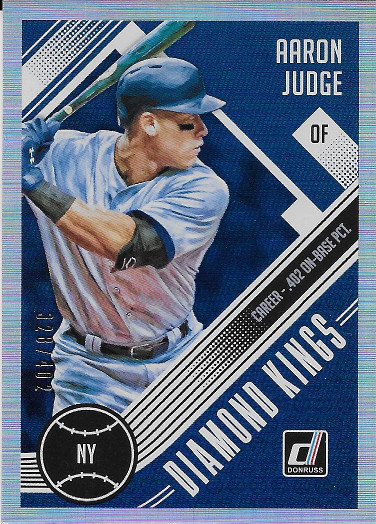 2018 Donruss Career Stat Line #19 Aaron Judge DK SP