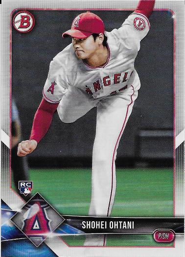 2018 Bowman #49 Shohei Ohtani RC