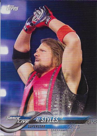 2018 Topps WWE #2 AJ Styles