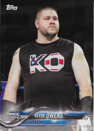 2018 Topps WWE #47 Kevin Owens