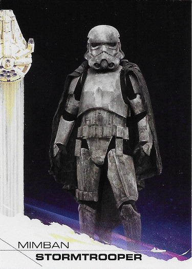 2018 Topps Solo: A Star Wars Story #11 Mimban Stormtrooper