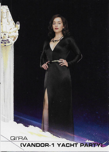 2018 Topps Solo: A Star Wars Story #37 Qi'ra (Vandor-1 Yacht Party)