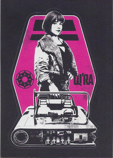2018 Topps Solo: A Star Wars Story Sticker #CS-2 Qi'ra