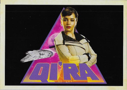 2018 Topps Solo: A Star Wars Story Character Icons #I-4 Qi'ra