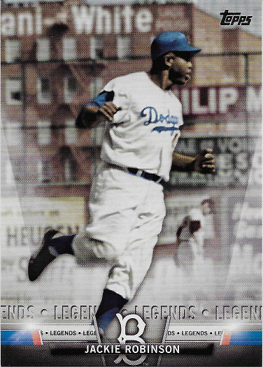 2018 Topps Salute #S-84 Jackie Robinson