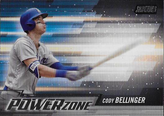 2018 Stadium Club Power Zone #PZ-CB Cody Bellinger