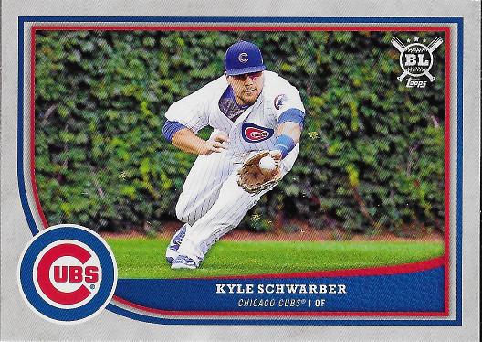 2018 Topps Big League #197 Kyle Schwarber