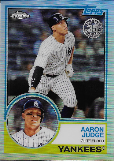 2018 Topps Chrome 1983 Topps #83T-1 Aaron Judge