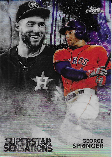 2018 Topps Chrome Superstar Sensations #SS-3 George Springer