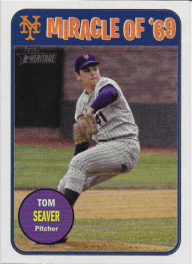 2018 Topps Heritage Miracle of '69 #MO69-TS Tom Seaver