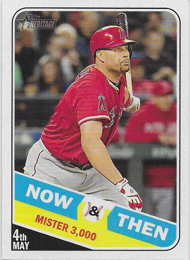 2018 Topps Heritage Now and Then #NT-6 Albert Pujols