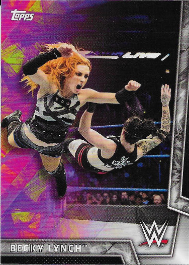 2018 Topps WWE Women's Division #5 Becky Lynch